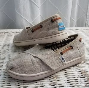 Toms Canvas Boat Shoes
